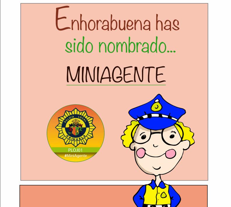 Todo lo que necesitan los niños y niñas de Orihuela para ser 'miniagentes' 6