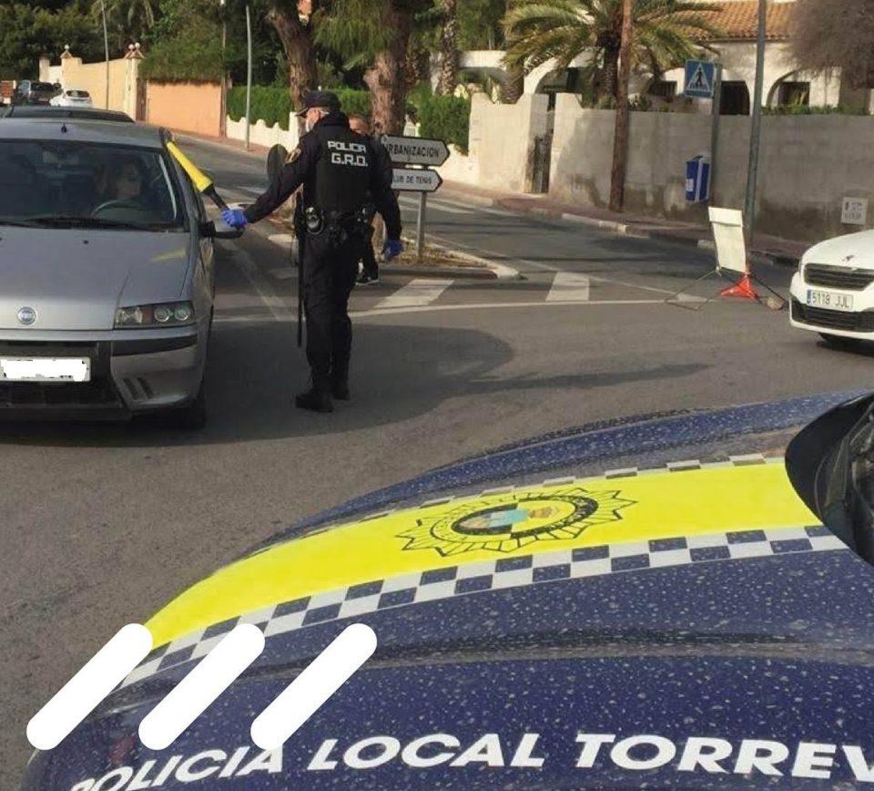El incumplimiento del cierre perimetral en Torrevieja se salda con 72 sanciones 6