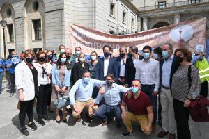 Multitudinaria manifestación en Madrid en defensa del Trasvase Tajo Segura 9