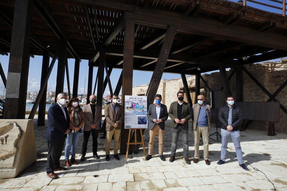 Presentado el ambicioso proyecto de rehabilitación del conjunto histórico de las Eras de la Sal 6