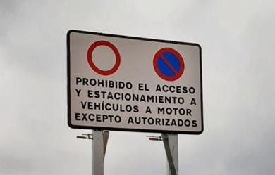Prohibido estacionar en las calas de Torrevieja 6