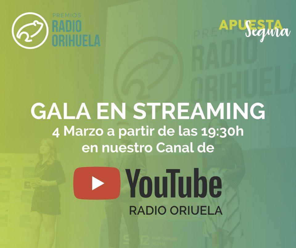 """Cuenta atrás para la III Gala de los Premios Radio Orihuela que podrá seguirse en """"streaming"""" 6"""