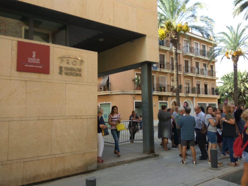 La Generalitat pretende resolver los primeros anticipos de ayudas a finales de esta semana 6