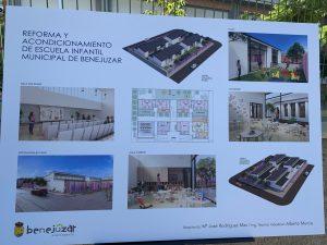 Benejúzar remodelará la escuela infantil y convertirá en inclusivo el patio de CEIP Antonio Sequeros 7