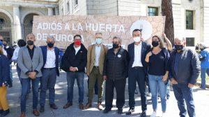 Multitudinaria manifestación en Madrid en defensa del Trasvase Tajo Segura 8