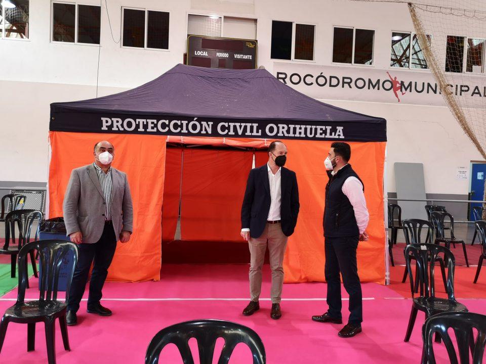 Orihuela, lista para la vacunación contra la COVID19 a la comunidad educativa 6