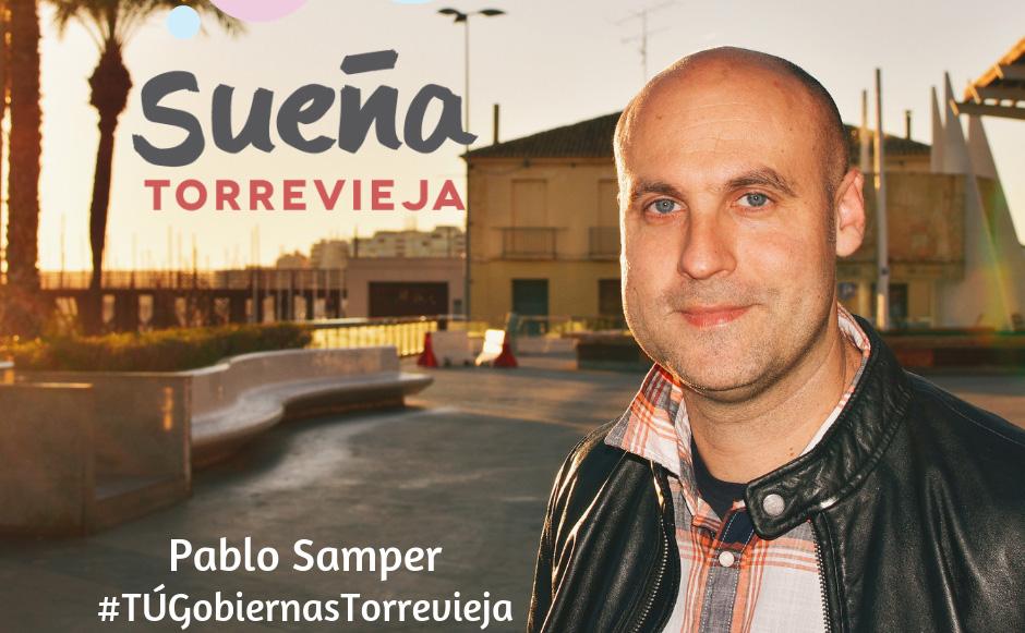 Pablo Samper muestra su intención a ser candidato a la alcaldía por Sueña Torrevieja 6