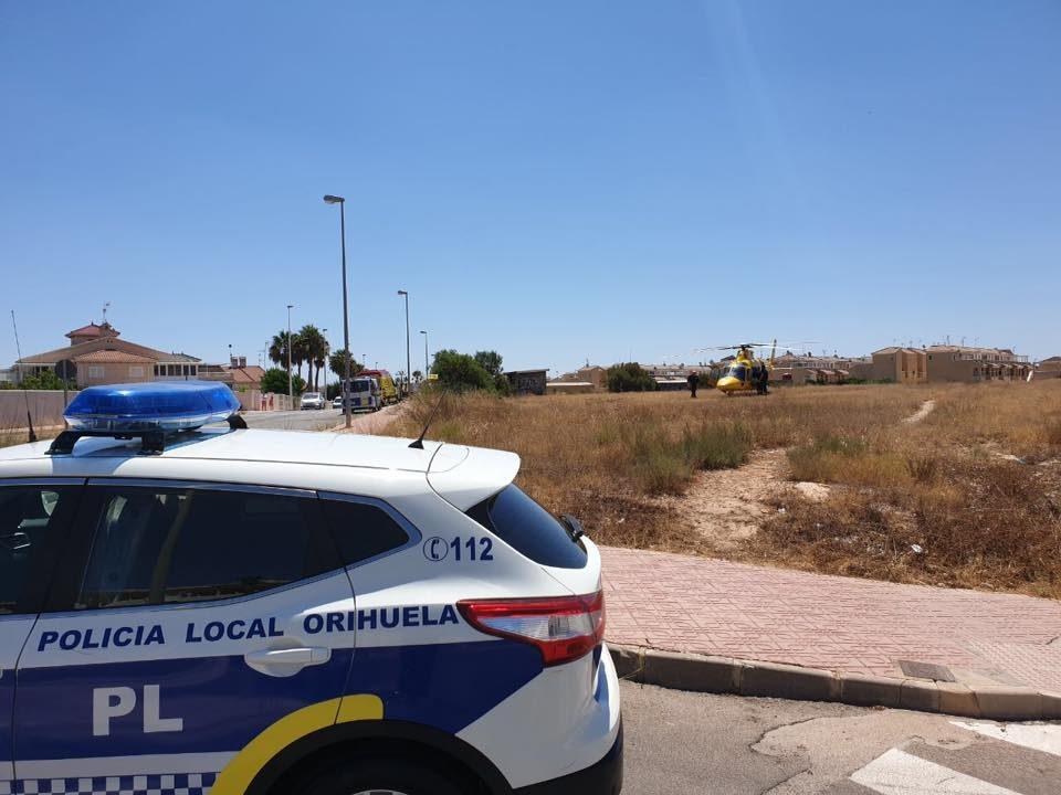 Dos heridos en dos accidentes de tráfico en la comarca 6