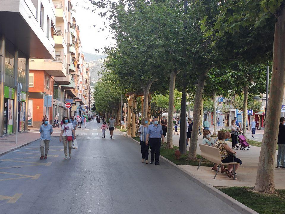 El Ayuntamiento de Orihuela reajusta el horario de peatonalización de las calles 6