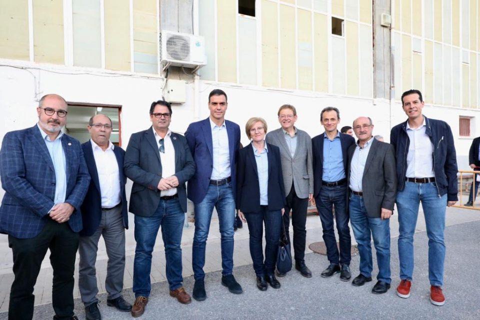 Los alcaldes socialistas trasladan a Pedro Sánchez las necesidades de la Comarca tras la DANA 6