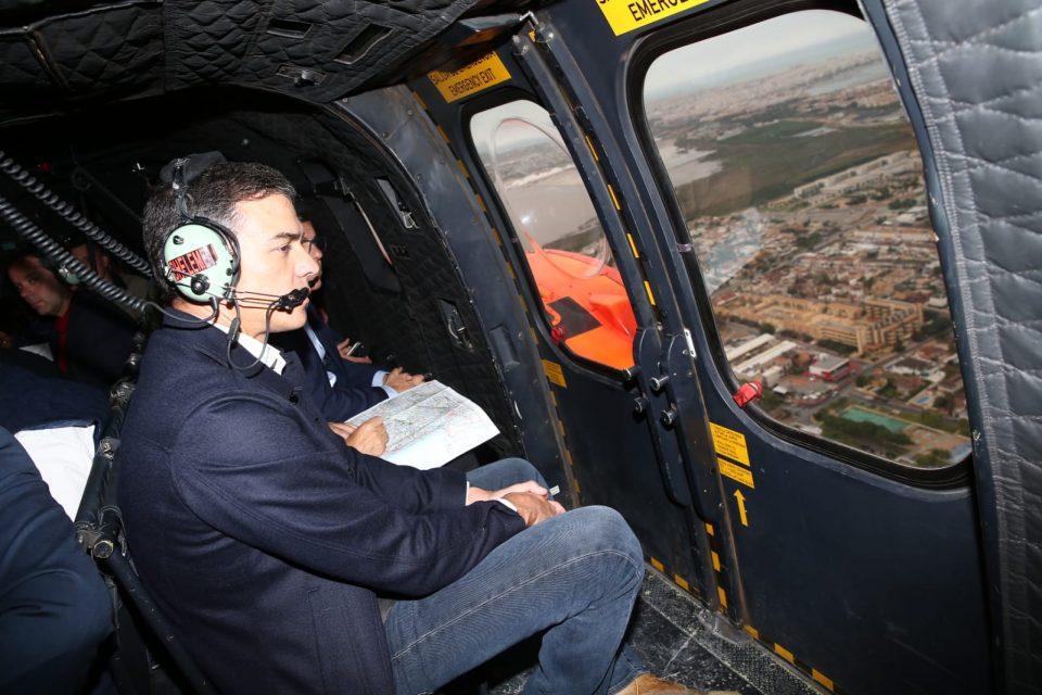 Sánchez visita Orihuela para conocer los daños por la gota fría 6