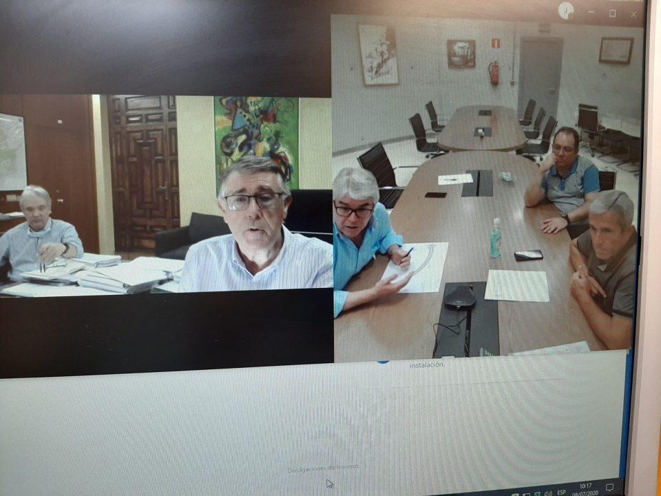 La CHS y Pilar de la Horadada abordan proyectos de defensa de avenidas 6