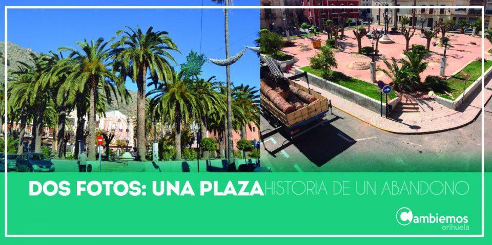 Adiós a las palmeras de la plaza Santa Lucía 6