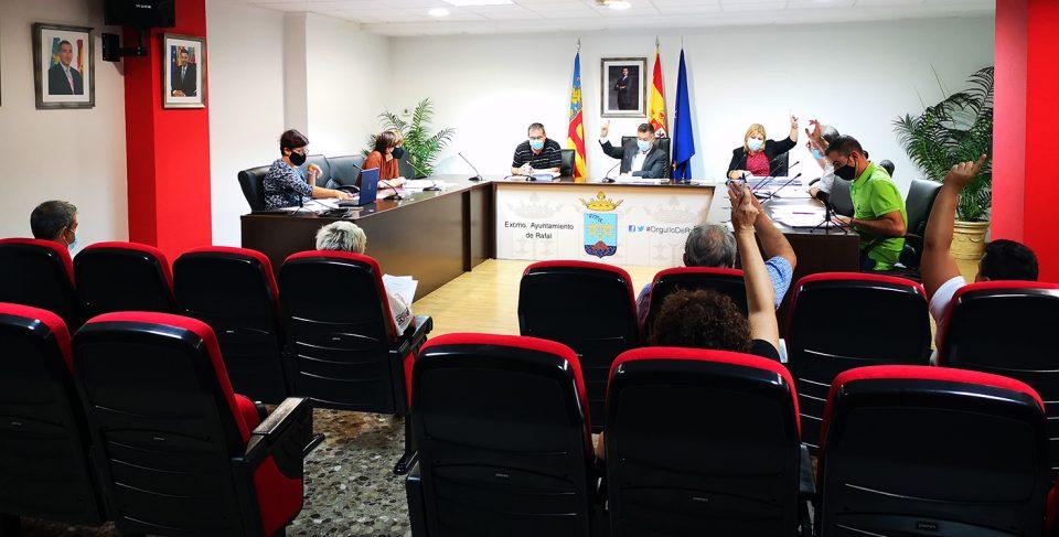 Rafal creará una comisión requerida por el ICV para conocer los límites del municipio y evitar futuros conflictos territoriales 6