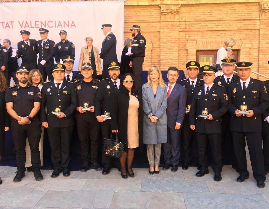 El IVASPE reconoce a la Policía Local de la Vega Baja por su labor durante la gota fría 6