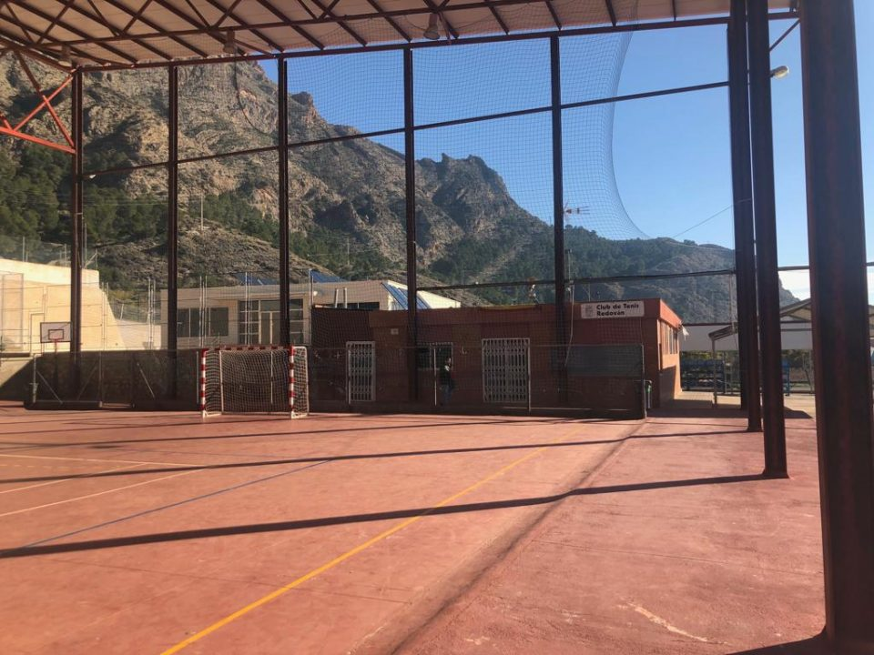 Redován invertirá 113.000 euros en el Polideportivo Los Pasos 6