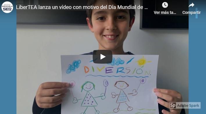 LiberTEA lanza un vídeo con motivo del Día Mundial del Autismo 6