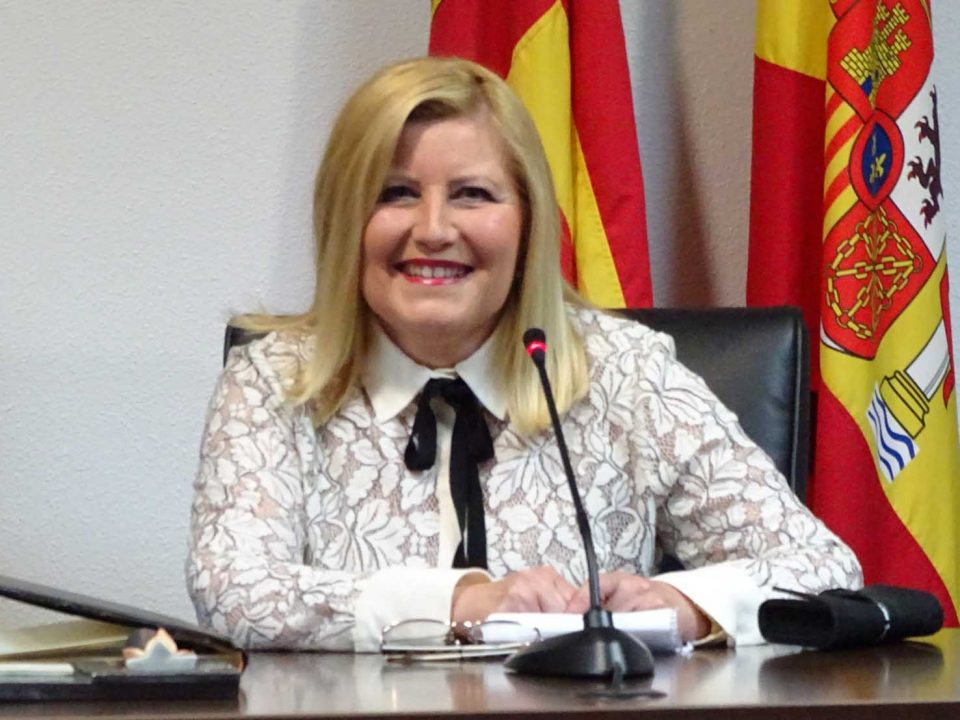Rosario Ruiz, portadora de La Graná de Rafal 6