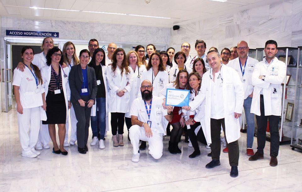 El Servicio de Medicina Interna del Hospital de Torrevieja, premiado por su atención excelente 6