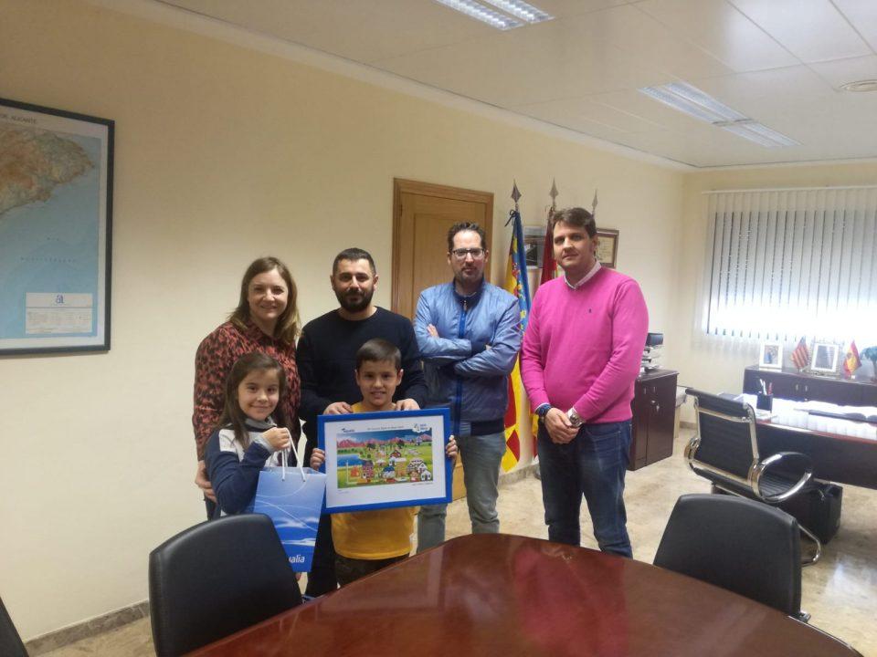Ximo Pastor finalista en el Concurso Digital Infantil sobre el agua 6