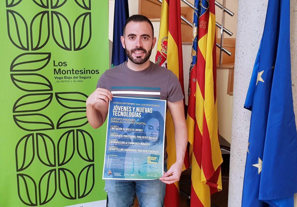 Los Montesinos oferta cursos formativos gratuitos en materia digital para jóvenes 6