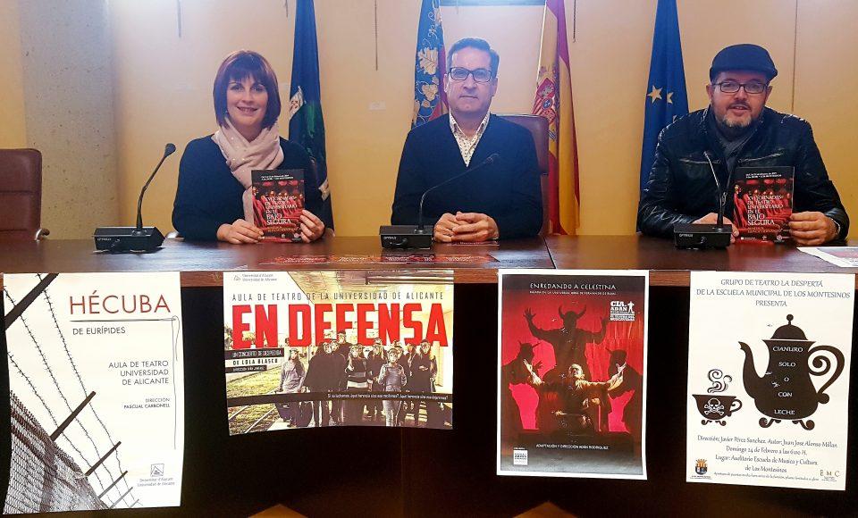 Vuelven las XVI Jornadas de Teatro Universitario a Los Montesinos 6