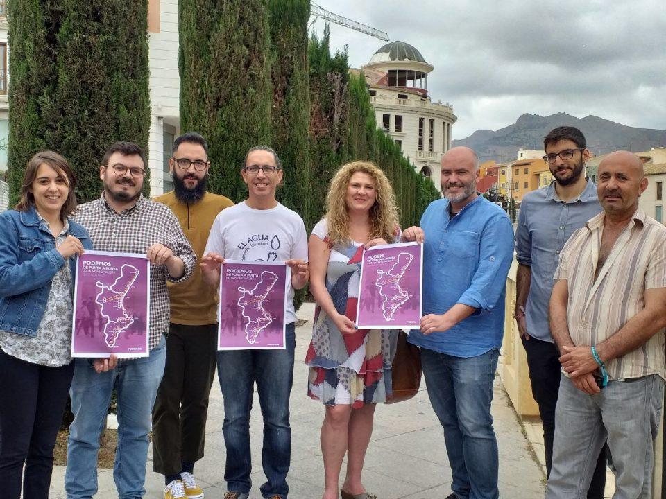 Comienza una ruta municipalista de las confluencias de Podemos 6