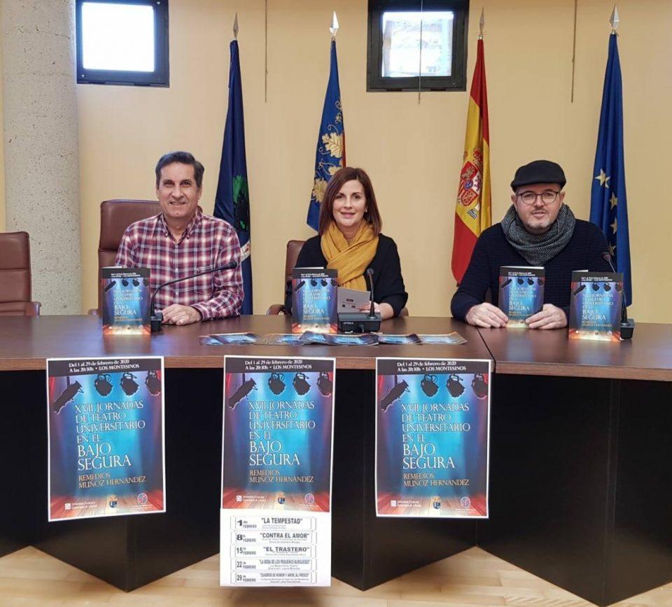 Los Montesinos acogerá en febrero las XVII Jornadas de Teatro Universitario 6