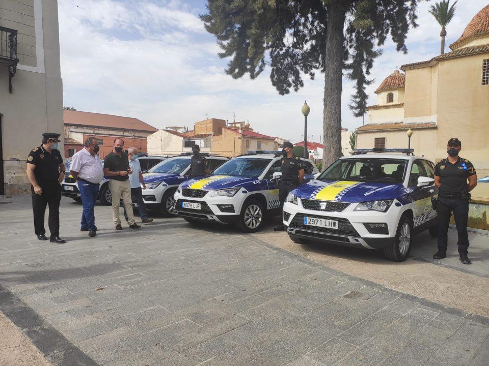 La Policía Local de Orihuela renueva su parque móvil 6