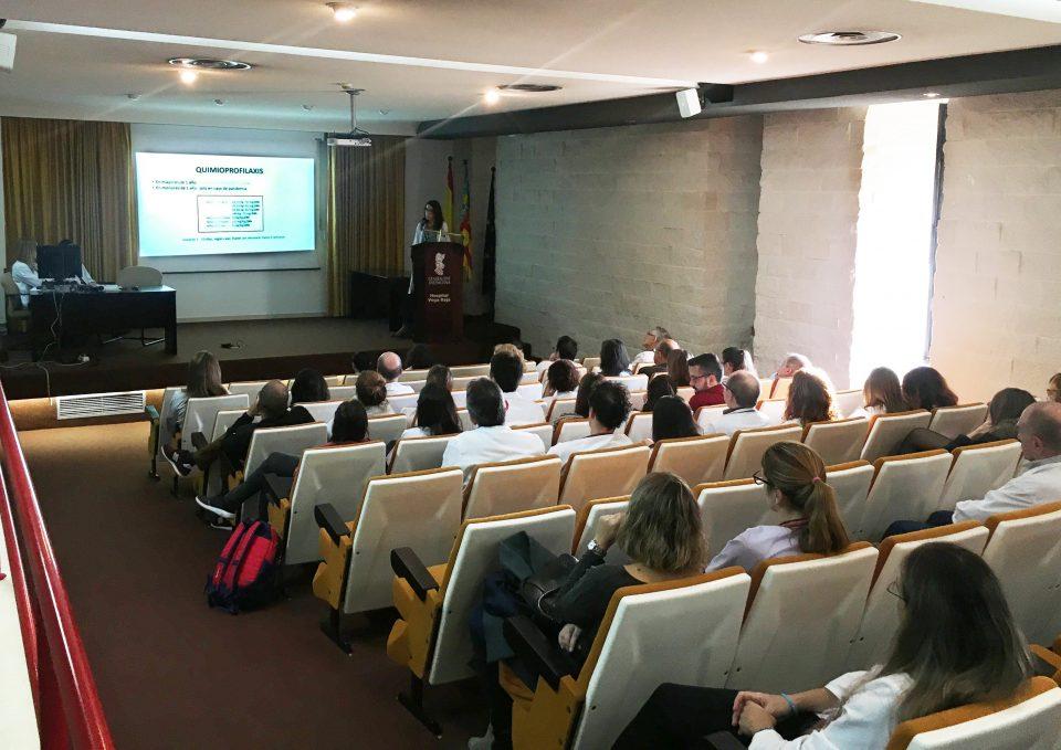 El Hospital Vega Baja crea un protocolo de actuación para la gripe 6