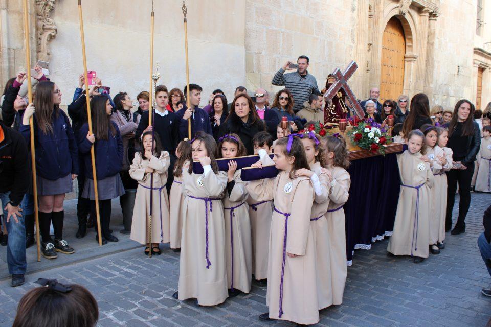 Más de 800 alumnos del Carmen participarán en la procesión infantil 6