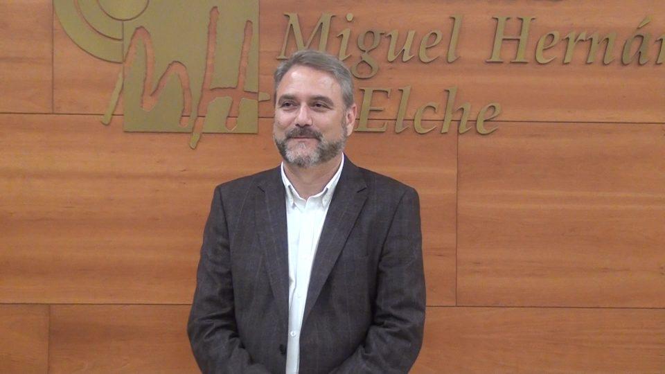 Juanjo Ruiz tomará posesión como rector el próximo lunes 6