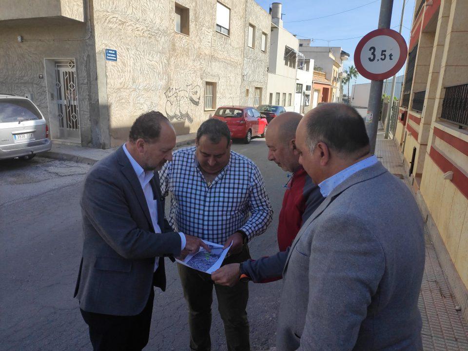 La Diputación subvenciona la reurbanización del barrio de Casas Baratas 6