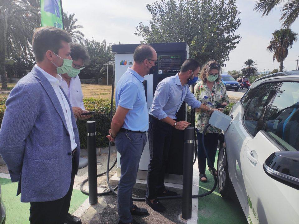 Orihuela amplía sus puntos de recarga de vehículos eléctricos 6