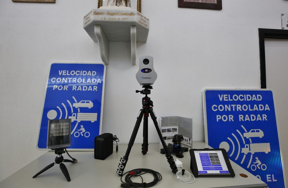 Entra en funcionamiento el radar móvil en Torrevieja 6