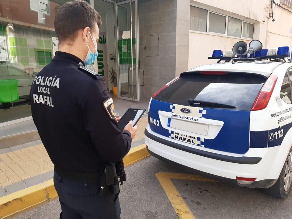 El Ayuntamiento de Rafal dota a la Policía Local de nuevos dispositivos para mejorar el servicio 6