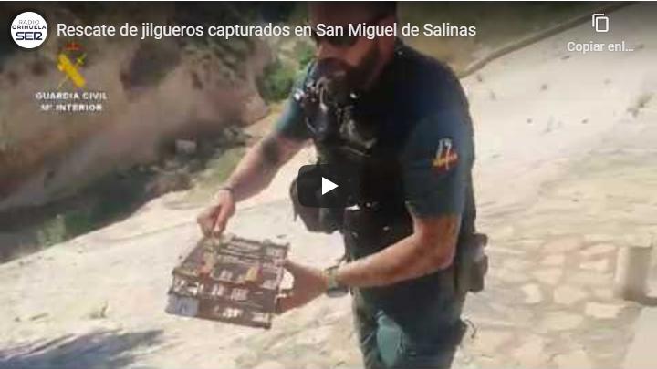 Dos hombres sancionados por capturar jilgueros en San Miguel de Salinas 6