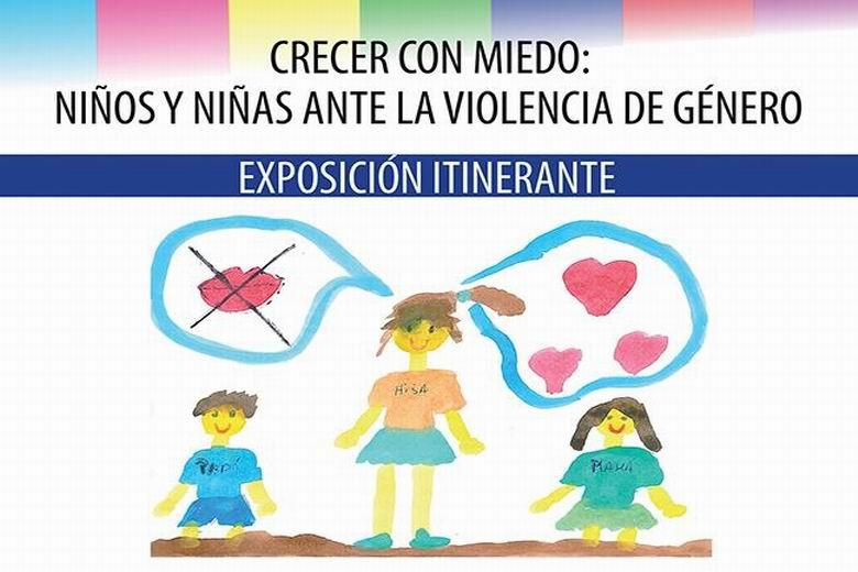 Los hijos e hijas de víctimas de mujeres maltratadas ilustran la violencia en sus hogares en una exposición en Rojales 6