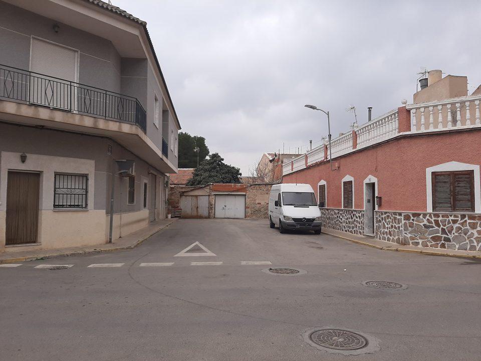 Rafal recupera el terreno necesario para conectar las calles Príncipe de Asturias y Federico García Lorca 6