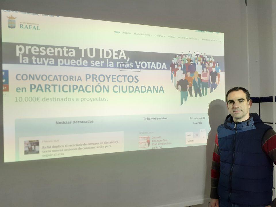 """""""Cardioprotegido"""", idea ganadora en los presupuestos participativos de Rafal 6"""