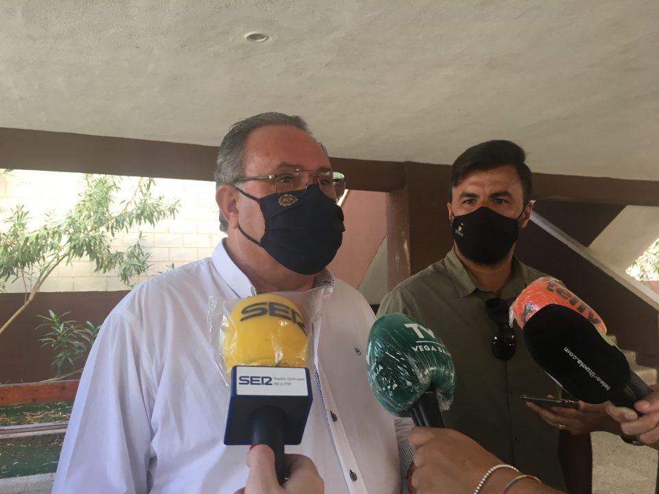 Ingresado por COVID el concejal de Orihuela, Ramón López 6