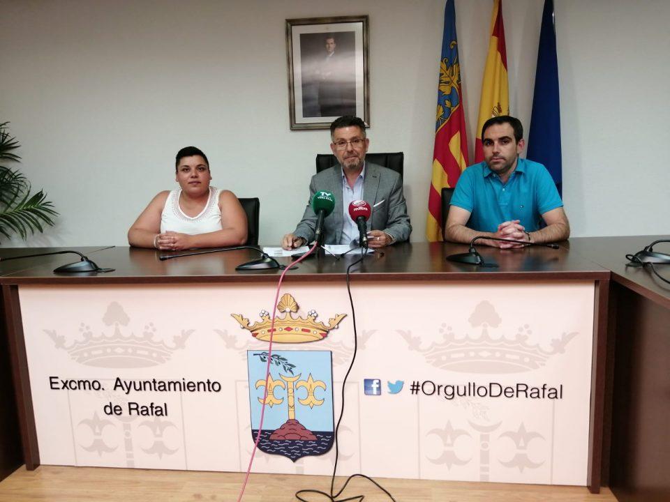 Los concejales de Rafal ya tienen las delegaciones distribuidas 6