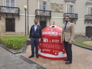 Orihuela y Guardamar se suman la campaña navideña de reciclaje de vidrio 7
