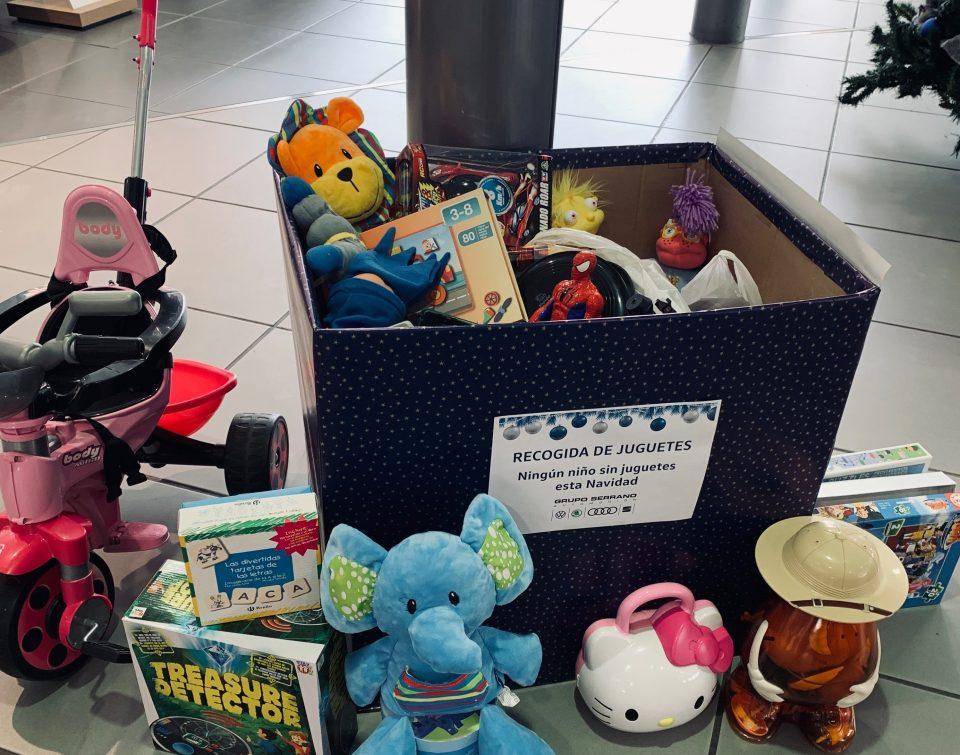 Grupo Serrano Automoción organiza una gran recogida de juguetes en sus concesionarios 6
