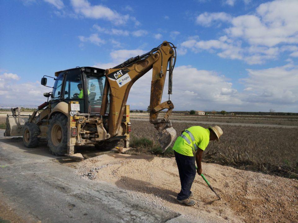 El Consell inicia las obras de reparación de infraestructuras agrarias dañadas por la DANA 6