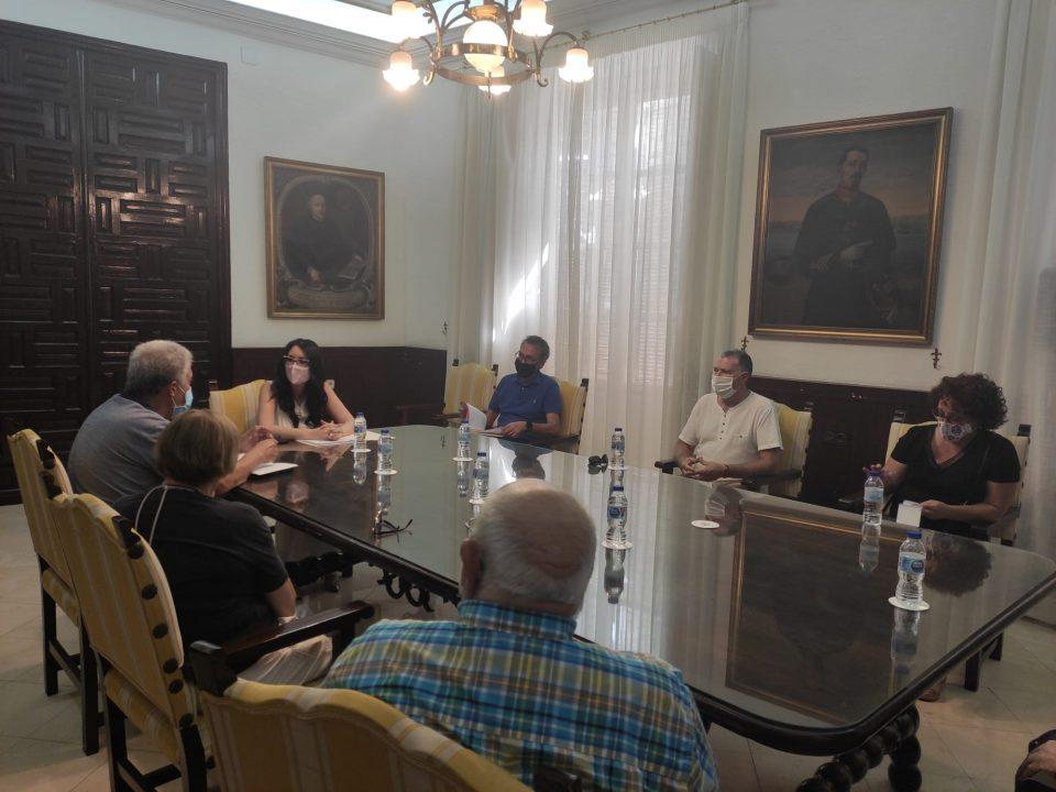 El Ayuntamiento de Orihuela continúa trabajando en la recuperación del Centro Oriol 6