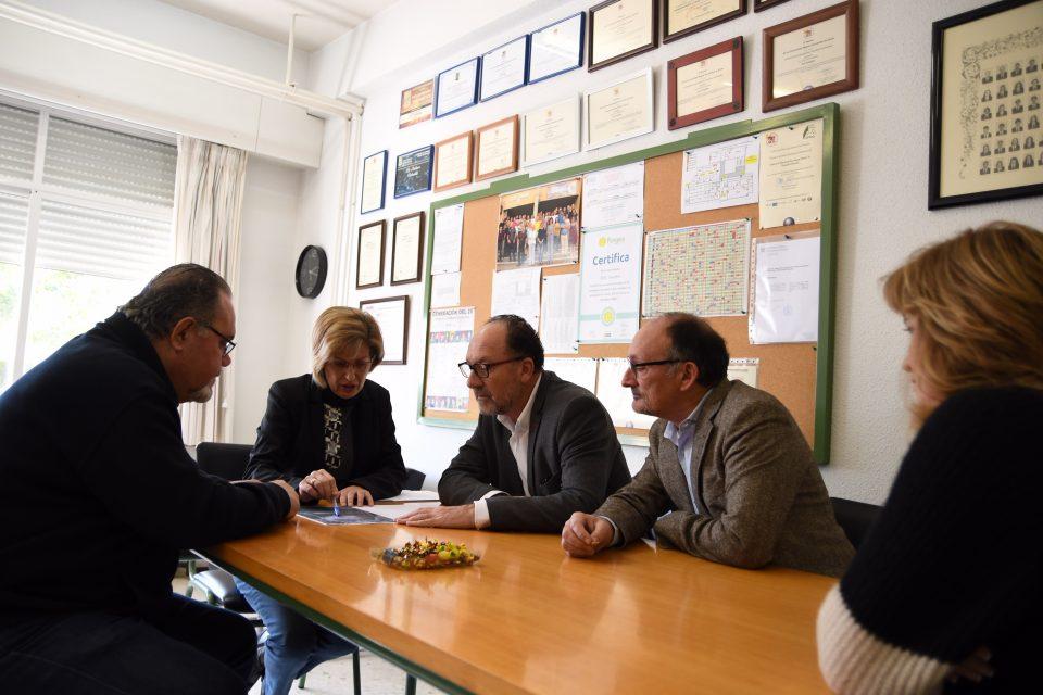 La redacción del proyecto de ampliación del IES Tháder comenzará en los próximos días 6