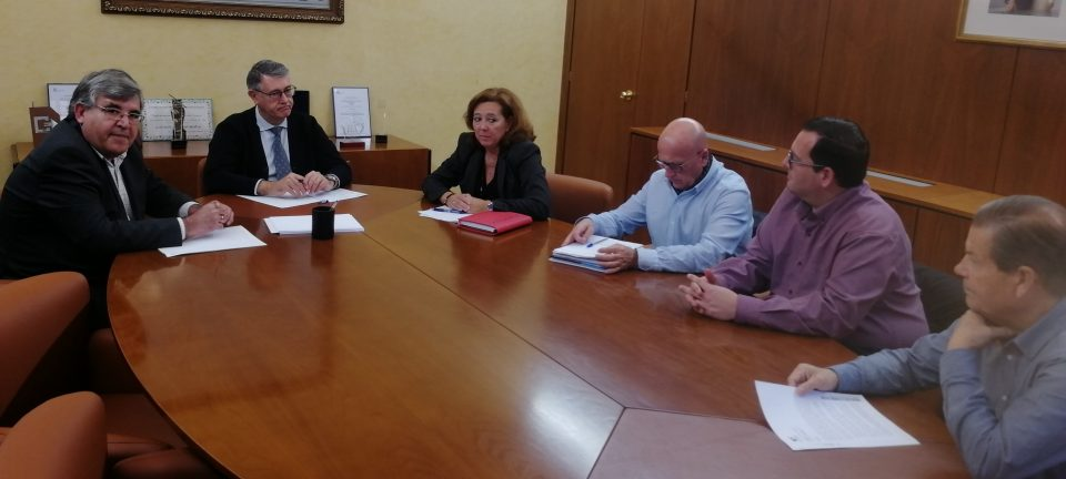 La CHS analiza con la alcaldesa de Almoradí las actuaciones tras la DANA 6