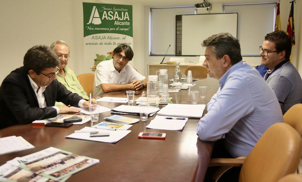 La Diputación respalda las reivindicaciones de ASAJA para que se amplíen las ayudas estatales 6