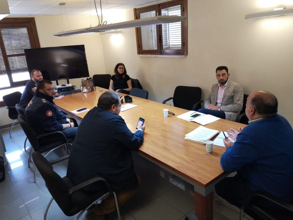 Orihuela comienza la desinfección de distintas zonas del municipio 6